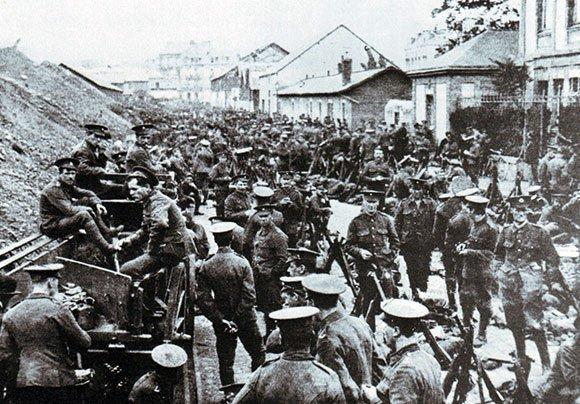 BATAILLE DE MONS : 23 AOUT 1914