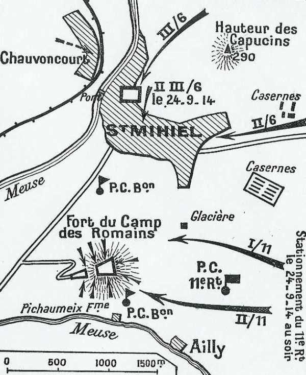 BATAILLE DES HAUTS DE MEUSE : 18 - 25 SEPTEMBRE 1914