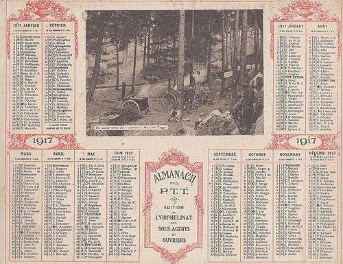 CHRONOLOGIE DE LA PREMIERE GUERRE MONDIALE : ANNEE 1917