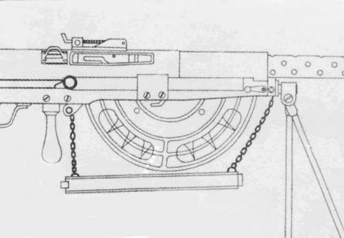 LE FUSIL MITRAILLEUR DE 8 mm GSRG MODELE 1915 : CHAUCHAT : 1er PARTIE :