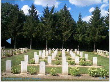 NECROPOLE DE BERRY AU BAC : CONFLIT 1914 1918