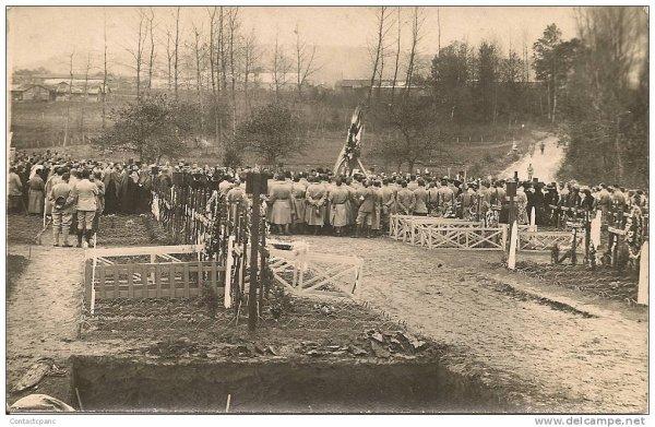 NECROPOLE NATIONALE  DE BRAINE : CONFLIT 1914 1918