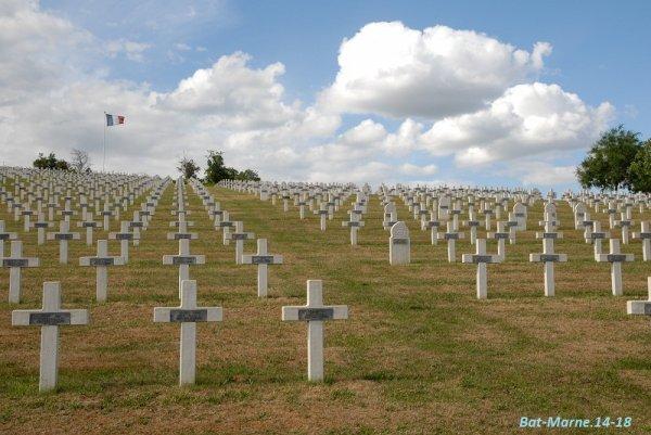NECROPOLE NATIONALE DE CRAONNELLE : CONFLIT 1914 1918
