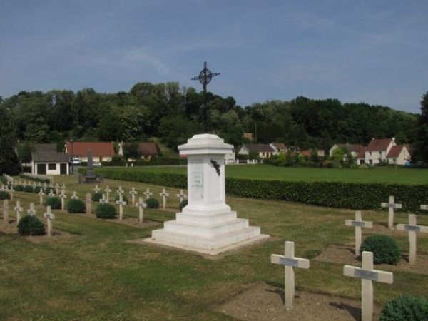 NECROPOLE NATIONALEDE VAILLY - SUR - AISNE : CONFLIT 1914 1918