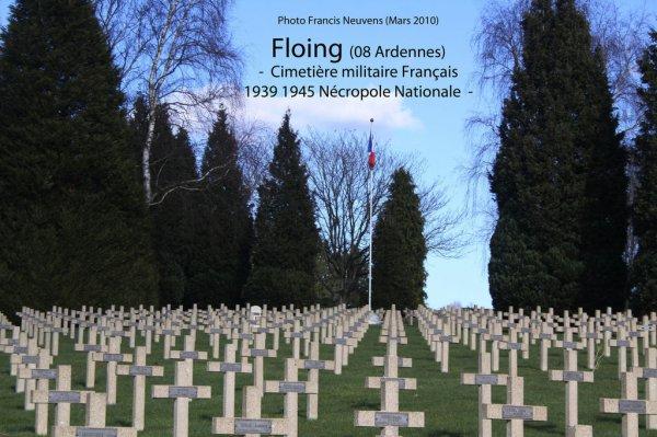 NECROPOLE NATIONALE DE FLOING : CONFLIT 1939 1945