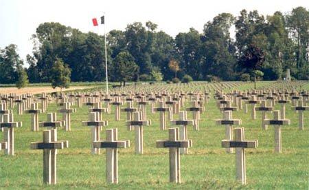NECROPOLE NATIONALE DE JONCHERY SUR SUIPPE : CONFLIT 1914 1918