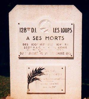 NECROPOLE DE ST-THOMAS-EN-ARGONNE : CONFLITS 1914 1918 ET 1939 1945