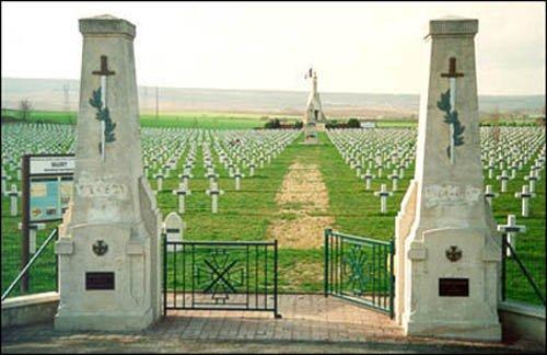 NECROPOLE NATIONALE DE SILLERY -BELLEVUE : CONFLIT 1914 1918
