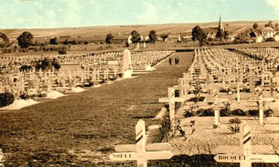 """NECROPOLE NATIONALE DE SOUAIN """"LA CROUEE """" : CONFLIT 1914 1918"""
