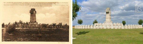 """NECROPOLE NATIONALE DE SOUAIN """" FERME DE WACQUES"""" : CONFLIT 1914 1918"""