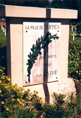NECROPOLE NATIONALE DE SUIPPES ( VILLE ) : CONFLIT 1914 1918