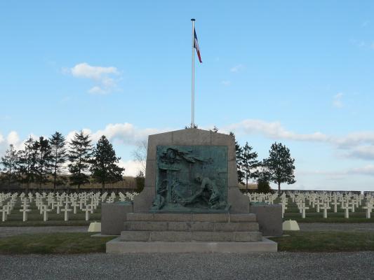 NECROPOLE NATIONALE DE COURBESSEAUX : CONFLIT 1914 1918