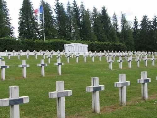 NECROPOLE NATIONALE DE GERBEVILLER : CONFLIT 1914 1918