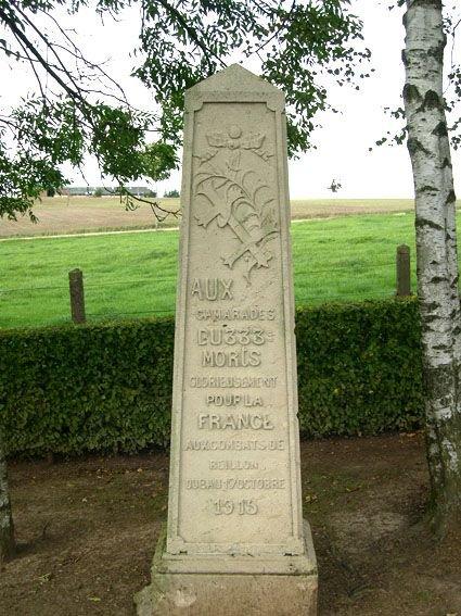 NECROPOLE NATIONALE DE REILLON : CONFLIT 1914 1918