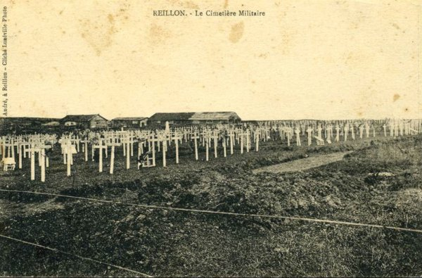 NECROPOLE NATIONALE DE REILLON : CONFLIT 1914 1918