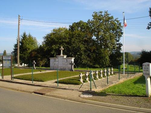 NECROPOLE NATIONALE DE VILLE-HOUDLEMONT : CONFLIT 1914 1918