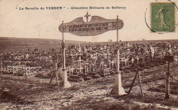 NECROPOLE NATIONALE DE BELLERAY : CONFLIT 1914 1918
