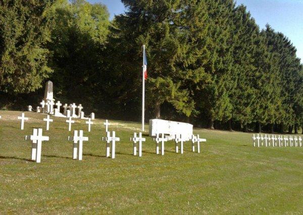 NECROPOLE NATIONALE DE DOMBASLE - EN  -ARGONNE ( LE BOIS DE BETHAINVILLE) : CONFLIT 1914 1918