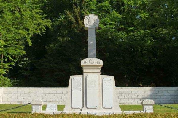 NECROPOLE NATIONALE DE  MARBOTTE : CONFLIT 1914 1918