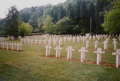 NECROPOLE NATIONALE DE TRESAUVAUX : CONFLIT 1914 1918