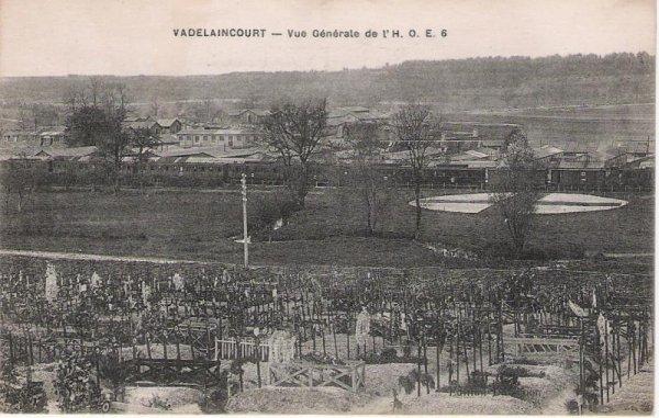 NECROPOLE NATIONALE DE VADELAINCOURT : CONFLIT 1914 1918