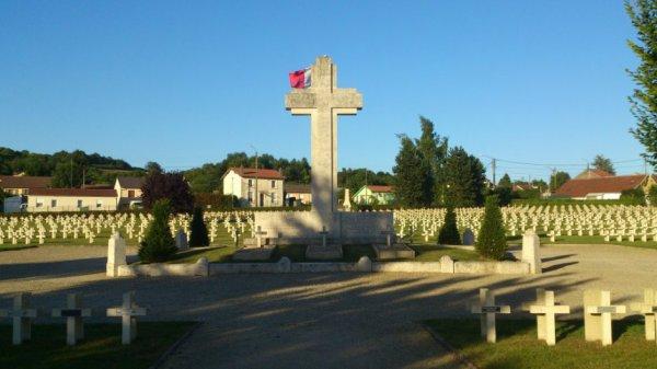 NECROPOLE DU FAUBOURG PAVE A VERDUN : CONFLIT 1914 1918