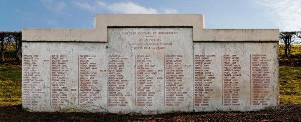 NECROPOLE NATIONALE DE BROUDERDORFF : CONFLI 1914 1918