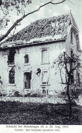 NECROPOLE NATIONALE DE CONTHIL : CONFLIT 1914 1918