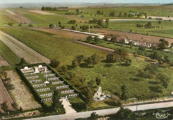 NECROPOLE NATIONALE DE LAGARDE : CONFLIT 1914 1918