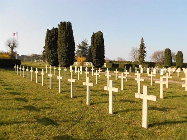 NECROPOLE NATIONALE BUHL , LE MARXBERG A SARREBOURG : CONFLITS 1914 1918 ET 1939 1945