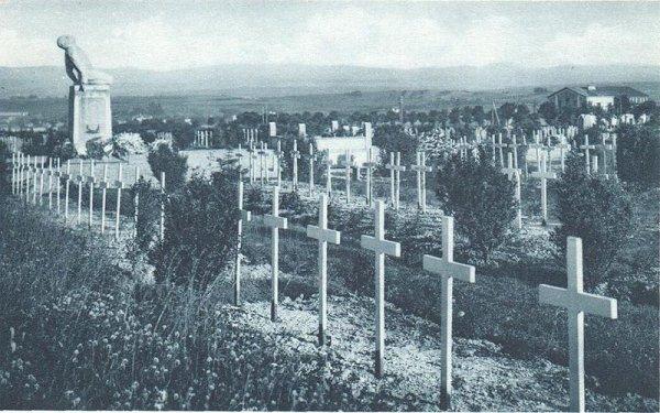 NECROPOLE DES PRISONNIERS DE GUERRE FARNCAIS A SARREBOURG : CONFLIT 1914 1918