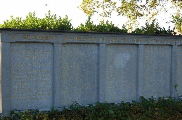 NECROPOLE NATIONALE D' ASSEVENT : CONFLIT 1914 1918