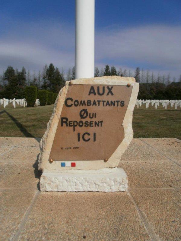 NECROPOLE NATIONALE DE CAMBRONNE - LES - RIBEBECOURT : CONFLITS 1914 1918 ET 1939 1945
