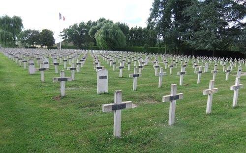 NECROPOLE NATIONALE DE SENLIS : CONFLIT 1914 1918
