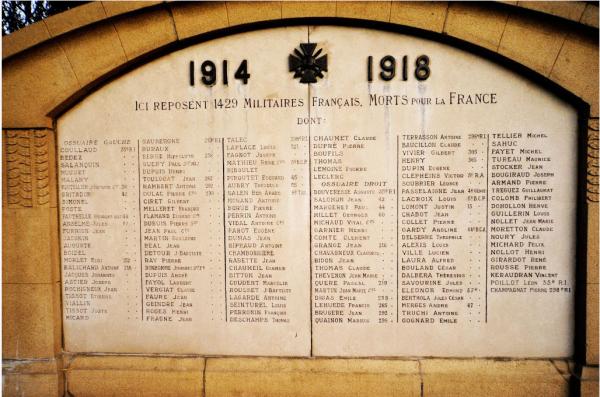 NECROPOLE NATIONALE DE VERBERIE : CONFLIT 1914 1918