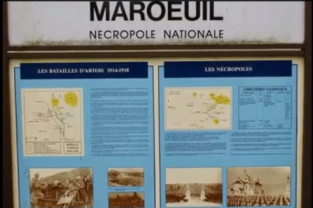 NECROPOLE NATIONALE DE MAROEIL : CONFLIT 1914 1918