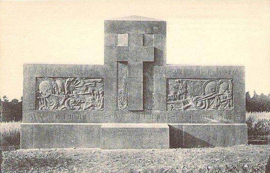 NECROPOLE DE GRANDFONTAINE LE DONON : CONFLITS 1914 1919 ET 1939 1945