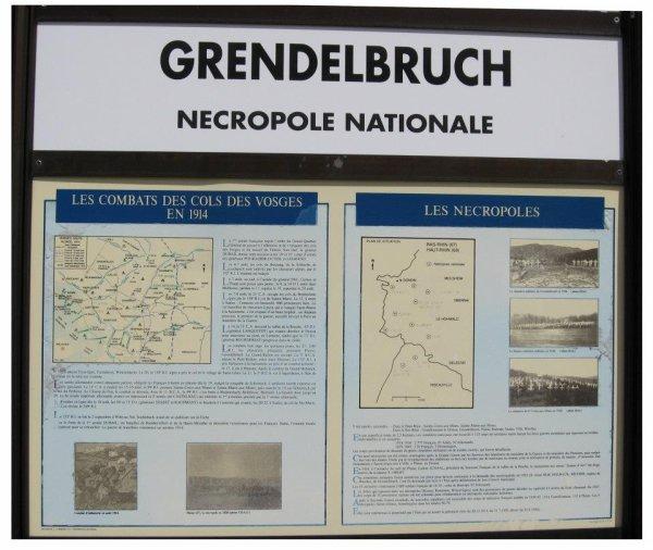 NECROPOLE NATIONALE DE GREDELBRUCH : CONFLIT 1914 1918