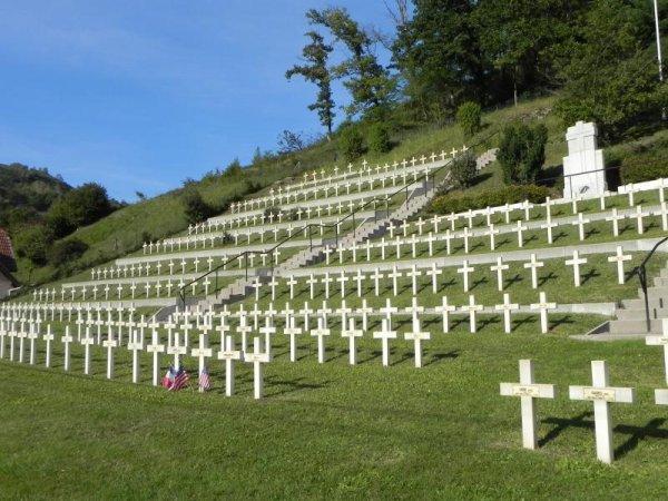 NECROPOLE NATIONALE DE MOOSCH : CONFLIT 1914 1918