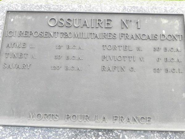 NECROPOLE NATIONALE LE WETTSTEIN CIMETIERE DU LINGE A ORBEY : CONFLIT 1914 1918