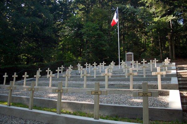 NECROPOLE NATIONALE DE SAINTE- MARIE- AUX- MINES : CONFLIT 1914 1918