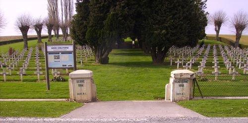 NECROPOLE DE SERRE- HUBETERNE ( BEAUMONT - HAMEL ) : CONFLIT 1914 1918