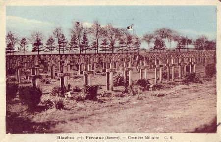NECROPOLE NATIONALE DE BIACHES : CONFLIT 1914 1918