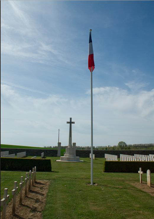 NECROPOLE NATIONALE DE CERISY : CONFLIT 1914 1918