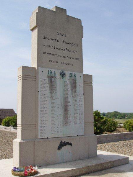 NECROPOLE NATIONALE DE RANCOURT : CONFLIT 1914 1918