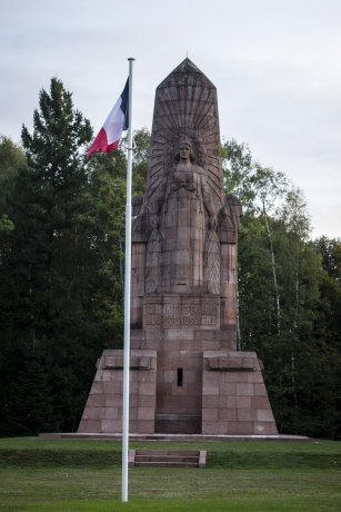 NECROPOLE NATIONALE LA FONTENELLE A BAN - DE - SAPT : CONFLIT 1914 1918