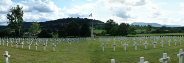 NECROPOLE NATIONALE FRANCO - ALLEMANDE DE BERTRIMOUTIER : CONFLIT 1914 1918