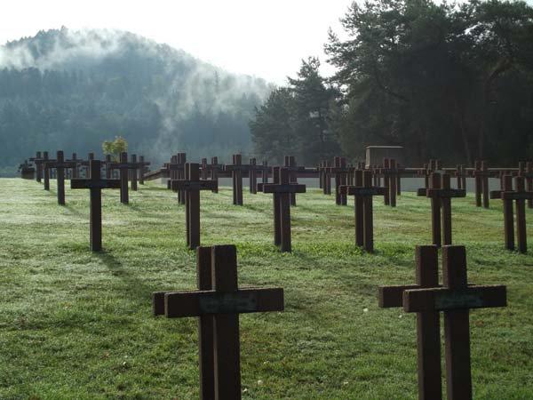 NECROPOLE NATIONALE DES TIGES A SAINT- DIE -DES - VOSGES : CONFLIT 1914 1918