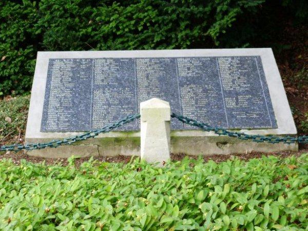 CIMETIERE MILITAIRE DE BRANDEVILLE : CONFLIT 1914 1918