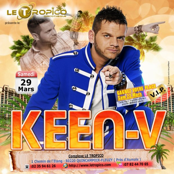 SHOW CASE DE KEEN'V !!!!
